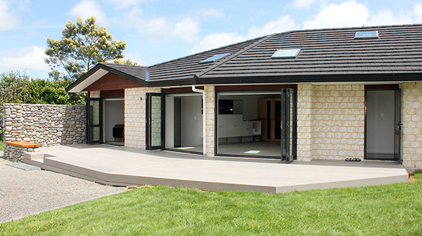 House Extention That Created Open Plan Living And Dining Room. House  Extension